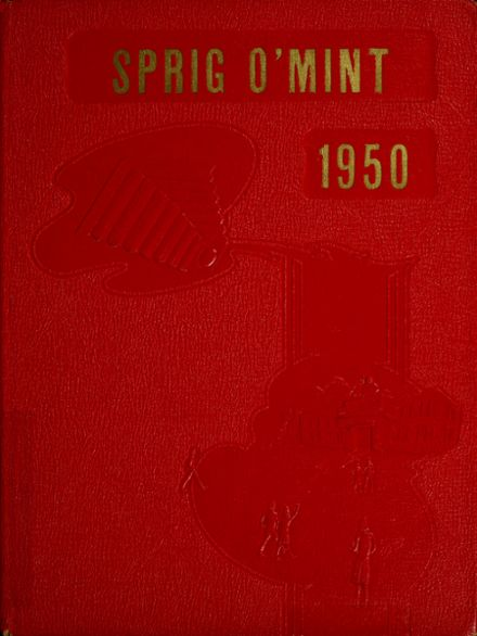 1950 Bremen High School Yearbook Cover