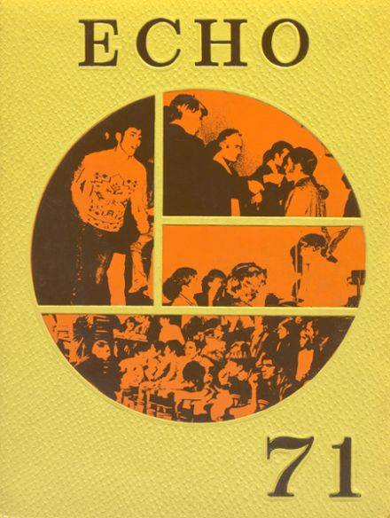 1971 Salesian High School Yearbook Cover
