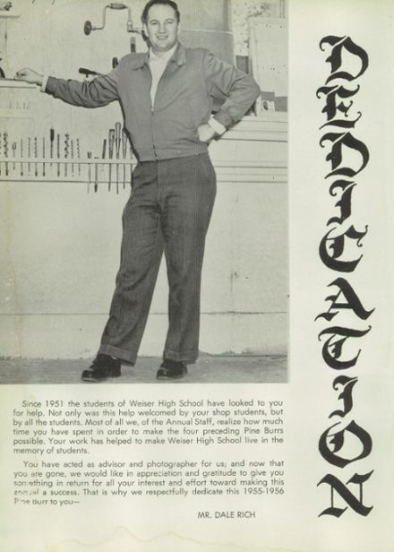 1956 Weiser High School Yearbook Page 6