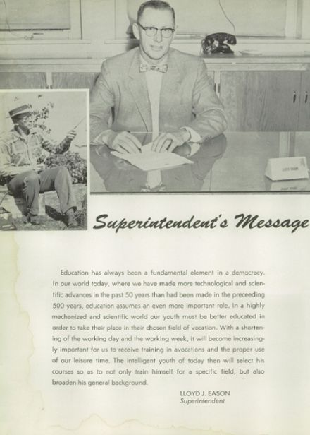 1956 Weiser High School Yearbook Page 8