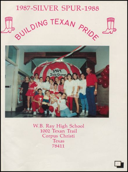 1988 W.B. Ray High School Yearbook Page 5