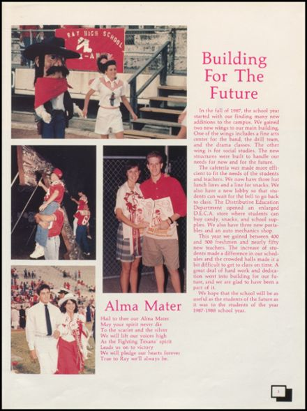 1988 W.B. Ray High School Yearbook Page 7