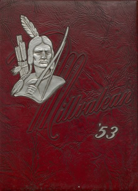 1953 Millvale High School Yearbook Cover