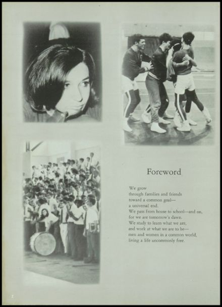 1968 Notre Dame High School Yearbook Page 6
