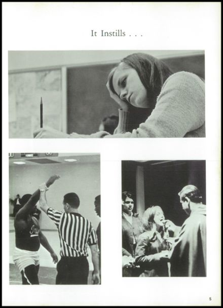 1968 Notre Dame High School Yearbook Page 9
