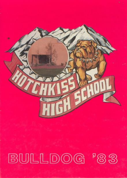 1983 Hotchkiss High School Yearbook Cover