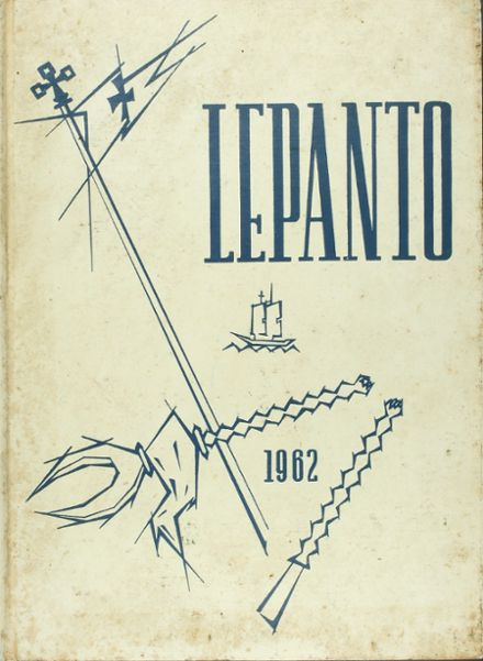 1962 Our Lady of Victory High School Yearbook Cover