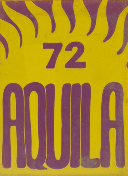 1972 Airport High School Yearbook Cover