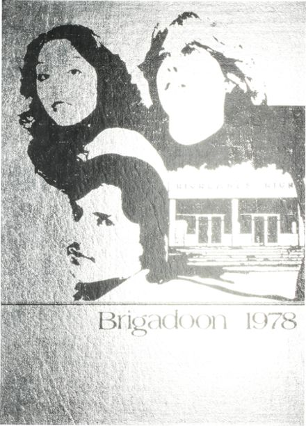 1978 Highlands High School Yearbook Cover