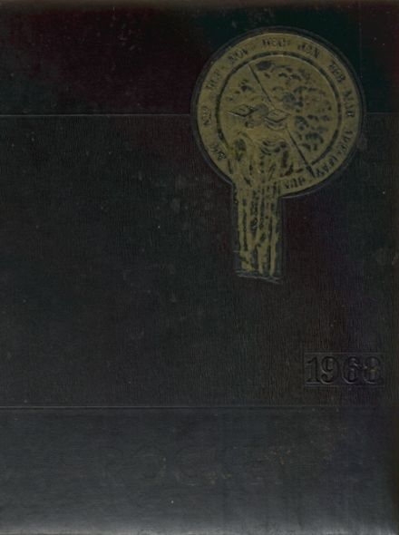 1968 Oldham-Ramona High School Yearbook Cover
