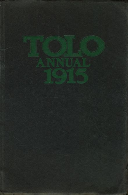 1915 Franklin High School Yearbook Cover