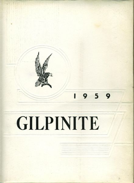 1959 Gilpin County High School Yearbook Cover
