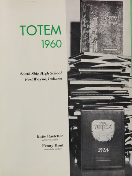 1960 South Side High School Yearbook Page 5