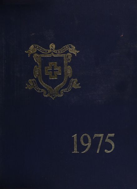 1975 Trinity School Yearbook Cover