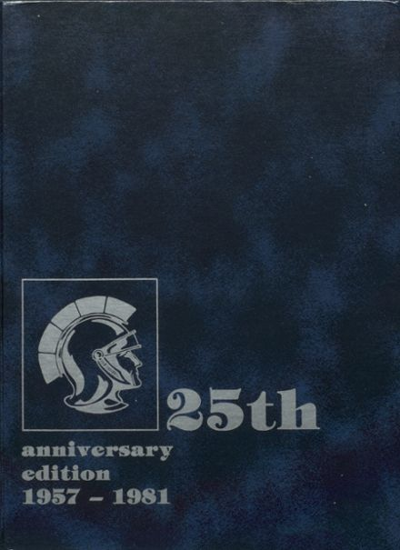 1981 Midlothian High School Yearbook Cover