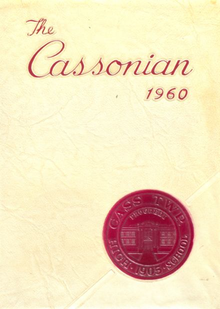 1960 Cass Township High School Yearbook Cover