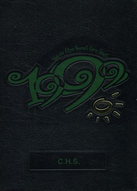 1999 Coloma High School Yearbook Cover