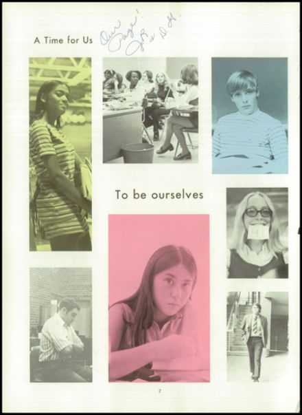 1972 Junction City High School Yearbook Page 6