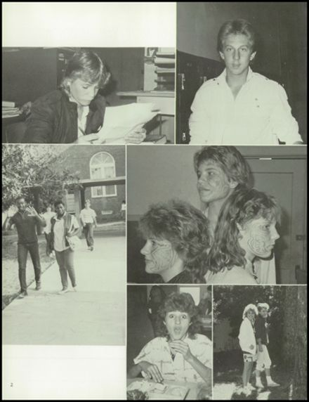 1987 Trenton High School Yearbook Page 6