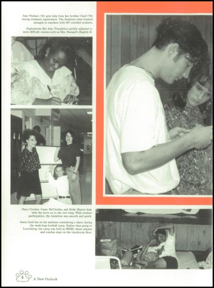 1992 Boiling Springs High School Yearbook Page 8