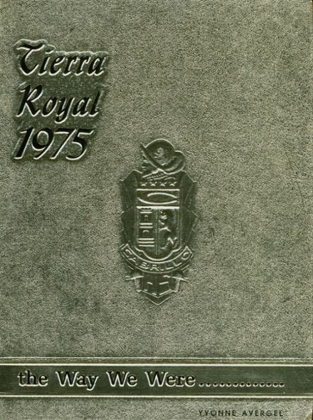 1975 Cabrillo High School Yearbook Cover