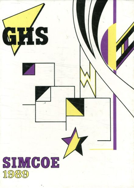 1989 Goldendale High School Yearbook Page 1