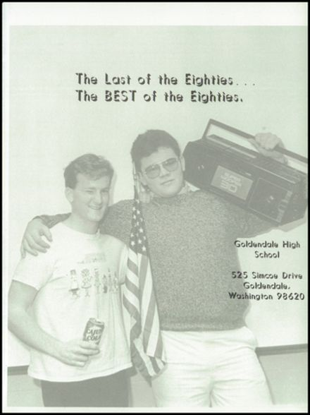 1989 Goldendale High School Yearbook Page 5