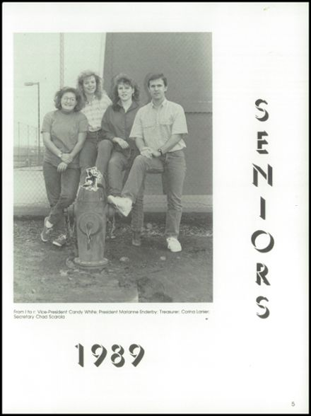 1989 Goldendale High School Yearbook Page 9