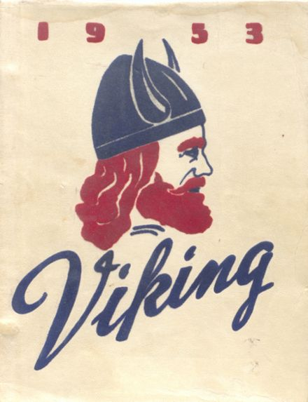 1953 Orcas Island High School Yearbook Cover