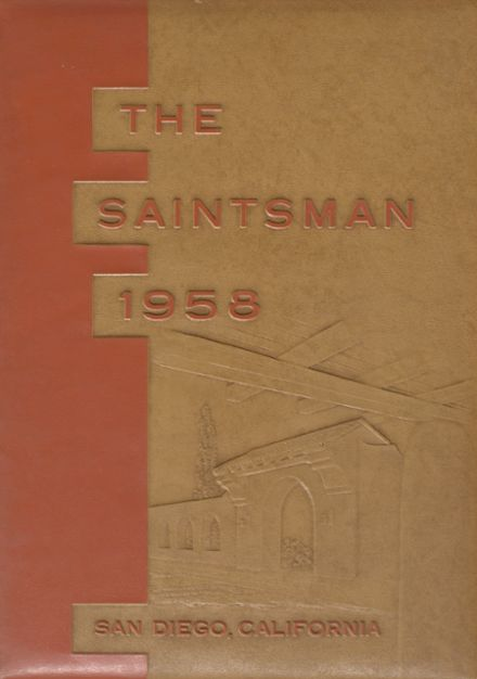 1958 St. Augustine High School Yearbook Cover