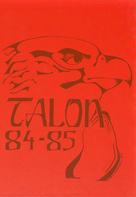 1985 Malabar High School Yearbook Cover