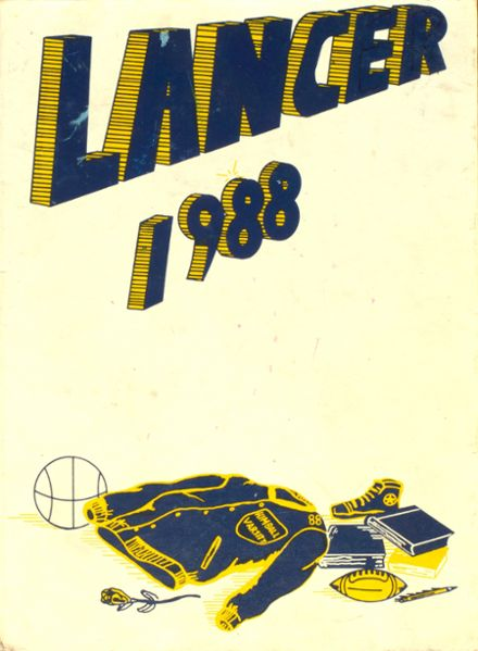 1988 Kimball High School Yearbook Cover