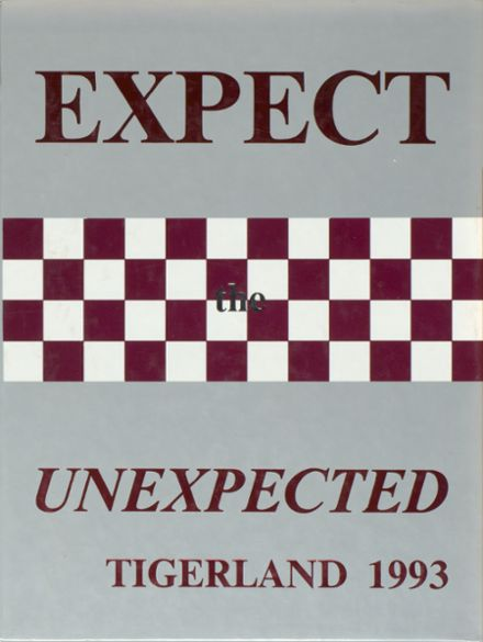 1993 A&M Consolidated High School Yearbook Cover