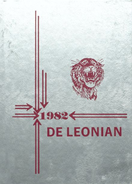 1982 DeLeon High School Yearbook Cover