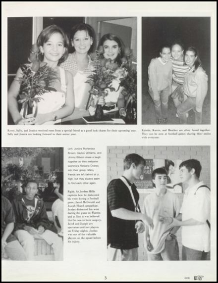 1998 Dumas High School Yearbook Page 7