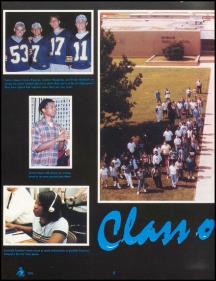 1998 Dumas High School Yearbook Page 8