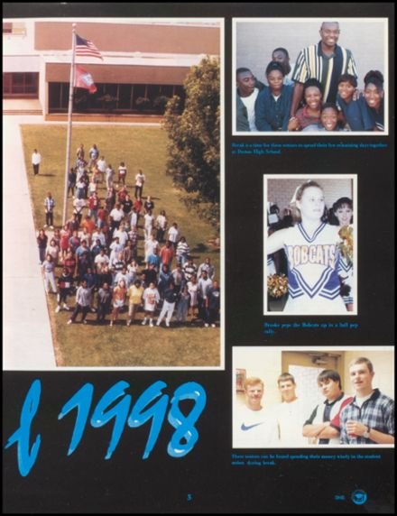 1998 Dumas High School Yearbook Page 9