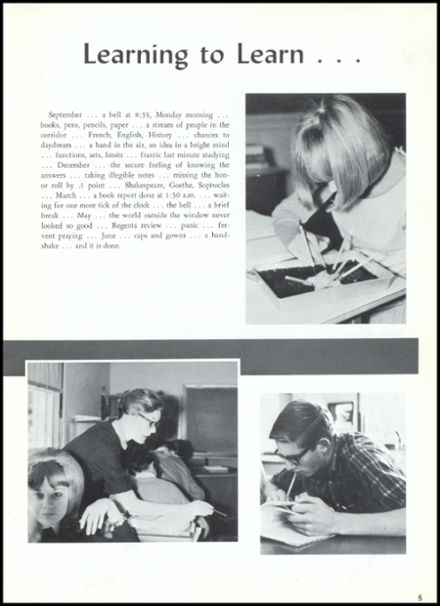 1966 Lake George High School Yearbook Page 9