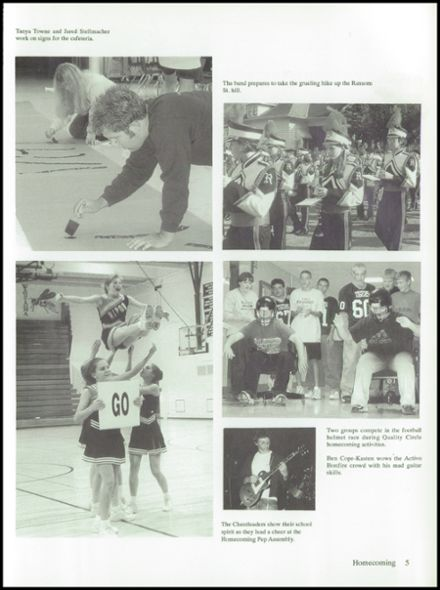 2002 Ripon High School Yearbook Page 9