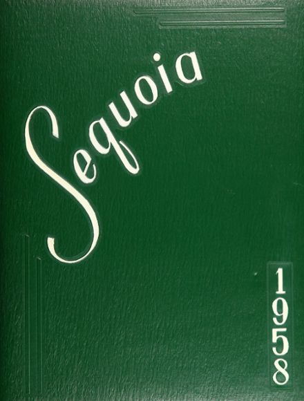 1958 Antioch Community High School Yearbook Cover