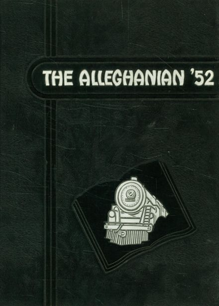 1952 Clifton Forge High School Yearbook Cover