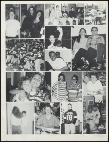 1993 Stillwater High School Yearbook Page 8