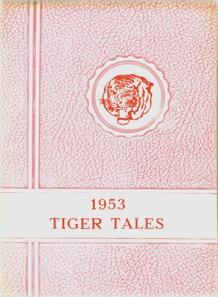 1953 Holmesville High School Yearbook Cover