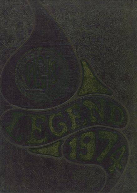 1974 West Snyder High School Yearbook Cover