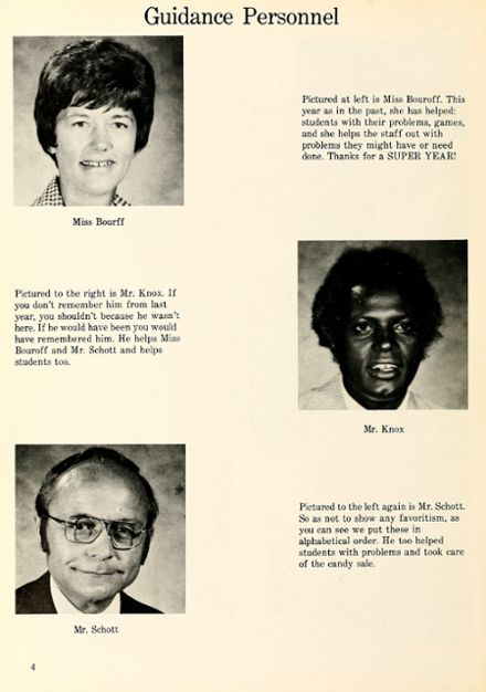 1975 Lakeside Middle School Yearbook Page 8