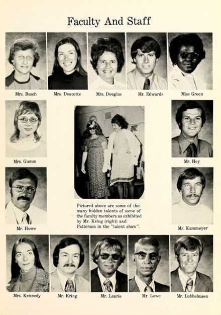1975 Lakeside Middle School Yearbook Page 9