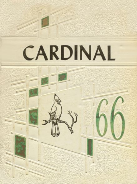 1966 Bird City Rural High School Yearbook Cover