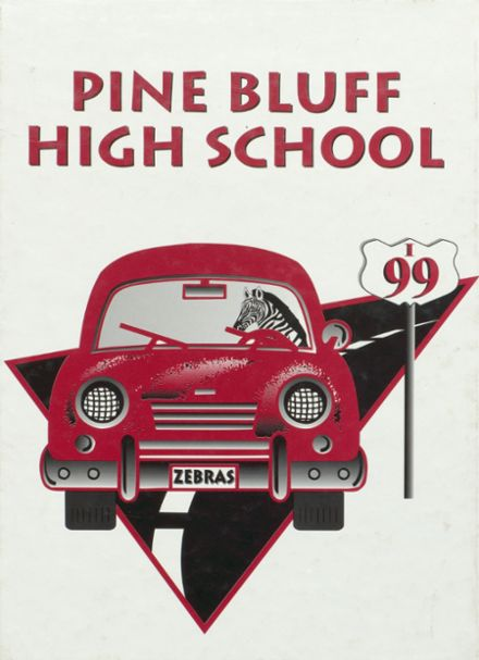 1999 Pine Bluff High School Yearbook Cover