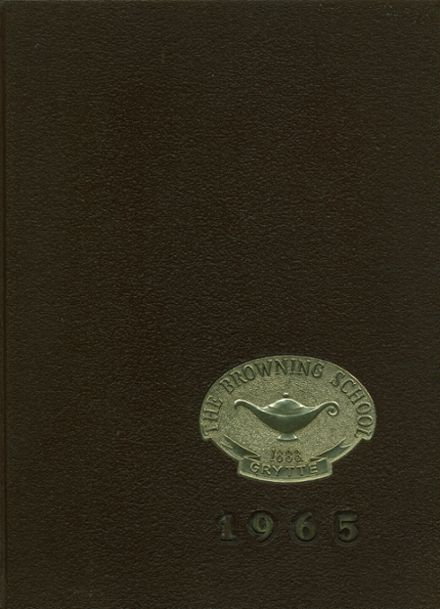 1965 Browning School Yearbook Cover