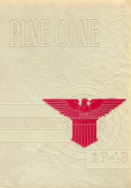1943 Rapid City Central High School Yearbook Cover